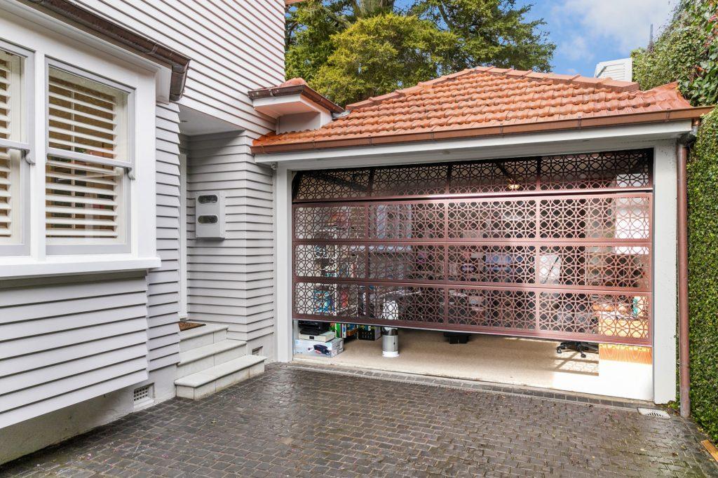 Plexiglass Laser Garage Door