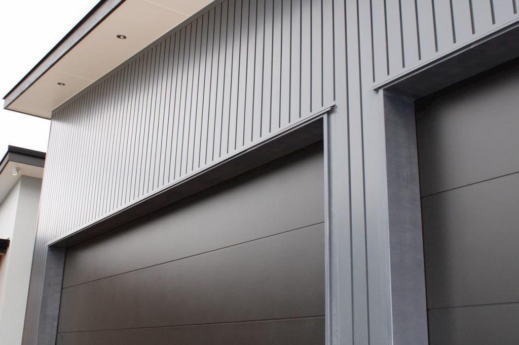 Continuous Aluminium Garage Door