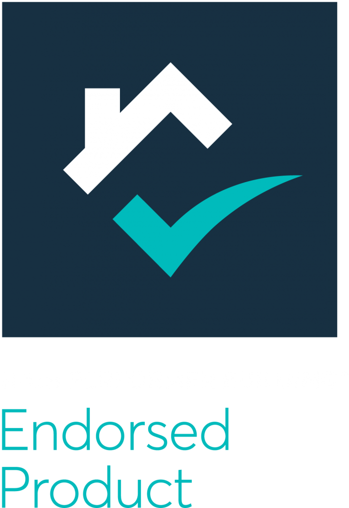 High Performance Building Endorsed Product banner