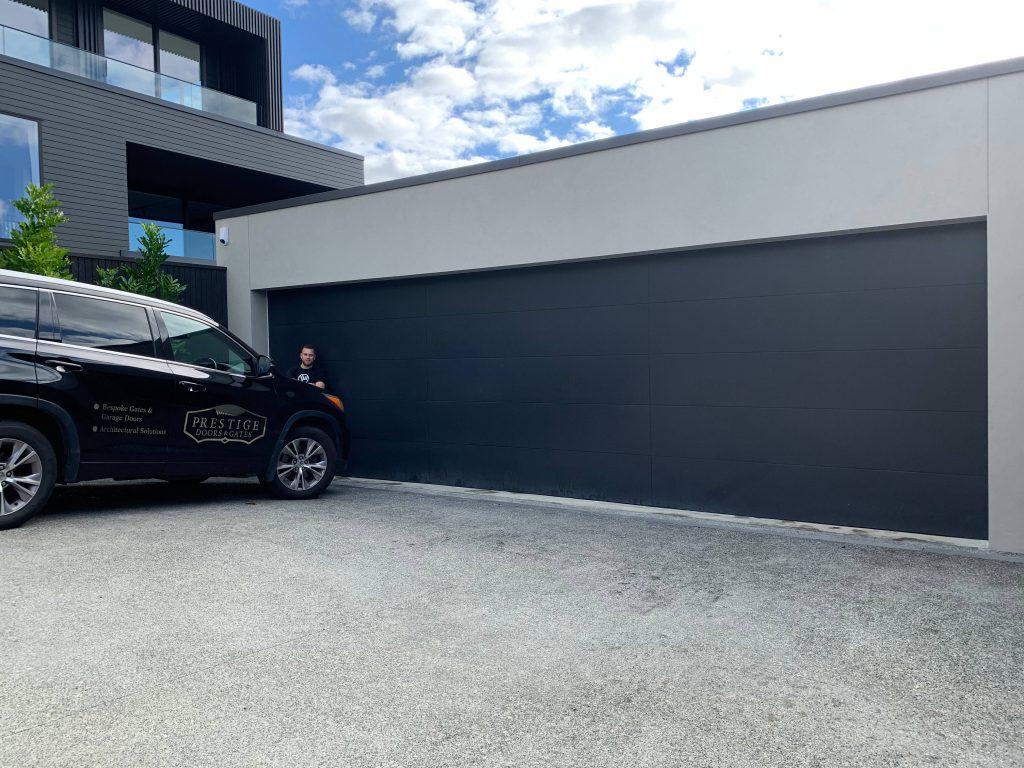 Oversize Garage Door